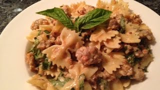 Bow Tie Pasta (farfalle) With Sausage