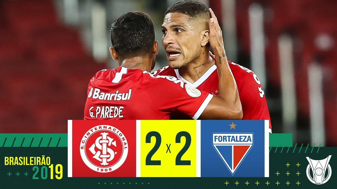 INTERNACIONAL 2 X 2 FORTALEZA - Melhores Momentos - Brasileirão 2019 (24/11)