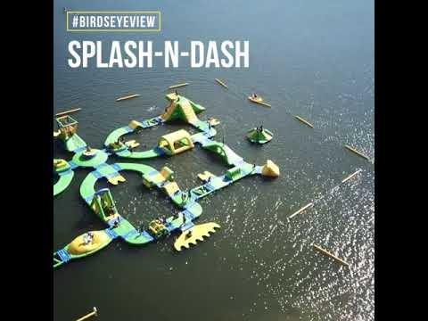 Splash-n-Dash Aqua Park - Birdseye View