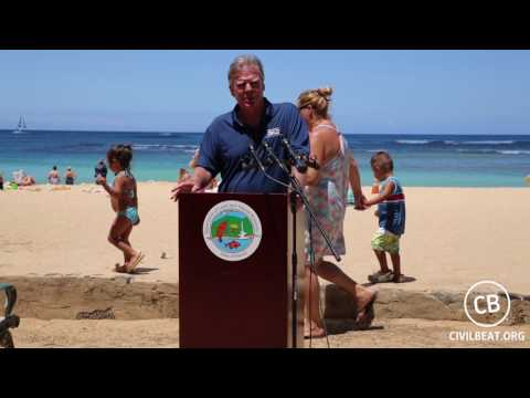 NOAA and DLNR Officials To Relocate Hawaiian Monk Seal Pup Kaimana