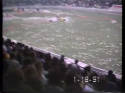 Indoor Jet Ski Race, Columbus, Ohio Jan. 18, 1991