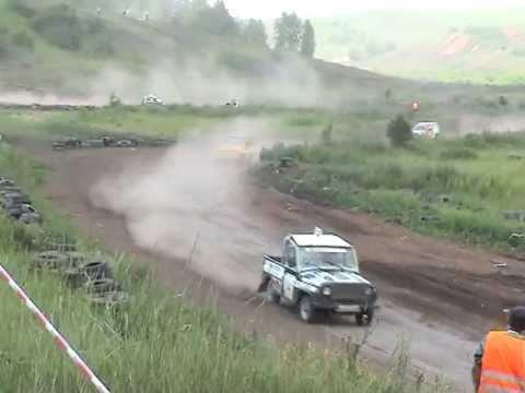 Автокросс. Красноярск 2011. 3й этап. Класс Т1-2500 (УАЗ)