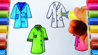 How to Draw doctors and nurse suit and Coloring pages for Childs