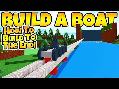 How to build ANYTHING to the end in Build a Boat!