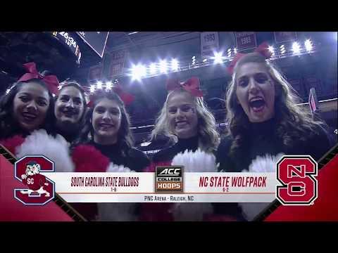 2017.12.02 South Carolina State Bulldogs at NC State Wolfpack Basketball