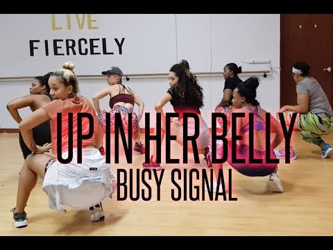 Busy Signal - Up in Her Belly - Choreography by @GeishaRene