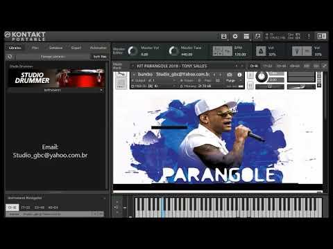 KIT PARANGOLÉ 2018  Kontakt Studio GBC Produções ParangoQueFala