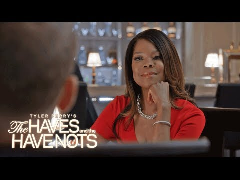 Veronicas Threatening Exchange with Justin | Tyler Perry's The Haves and the Have Nots | OWN