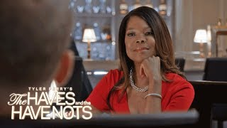 Veronica's Threatening Exchange with Justin | Tyler Perry's The Haves and the Have Nots | OWN