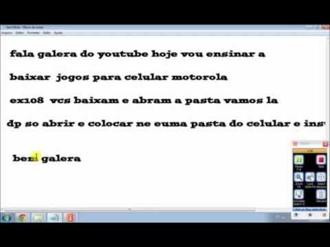BAIXAR EX108 VIDEOS PARA MOTOROLA GRATIS