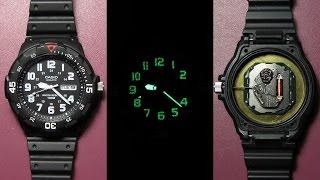 Обзор часов CASIO MRW-200H (спустя 1,5 года)(Обзор Casio MRW-200H-1BVEF спустя полтора года, плюсы и минусы. Смотрим как светятся стрелки и что внутри. Механизм..., 2016-03-20T14:19:44.000Z)