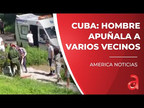 Tragedia en Cuba: hombre apuñala a varios vecinos  en el barrio de Víbora Park