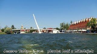 Mazury 2018/8 Mikolajki - jezero Talty