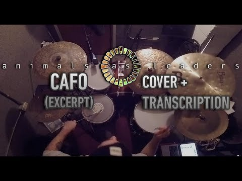 Animals As Leaders Cafo Drum Groove Transcription Youtube