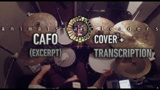 Animals As Leaders - CAFO (DRUM GROOVE + TRANSCRIPTION)