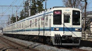 【幕車急行】東武8000系8000型8159F 急行柏行 運河~江戸川台通過【4K】