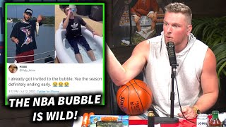Pat McAfee's Thoughts On The NBA Bubble, Players Living Their Best Life