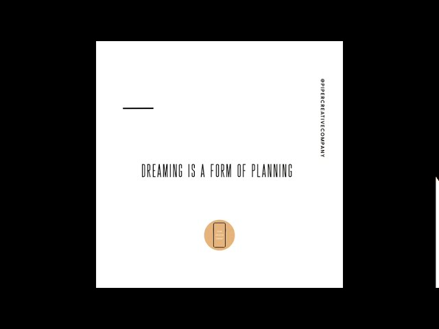 Dreaming is a Form of Planning