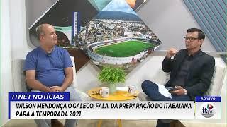 Reproduzir Hoje entrevista com Wilson Mendonça presidente do Itabaiana e Dr. Vagner prefeito de Moita Bonita.