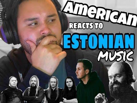 American REACTS: Estonian Music