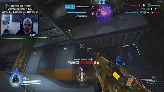 Overwatch Ana God mL7 The Most Intense Gameplay Against Wanted