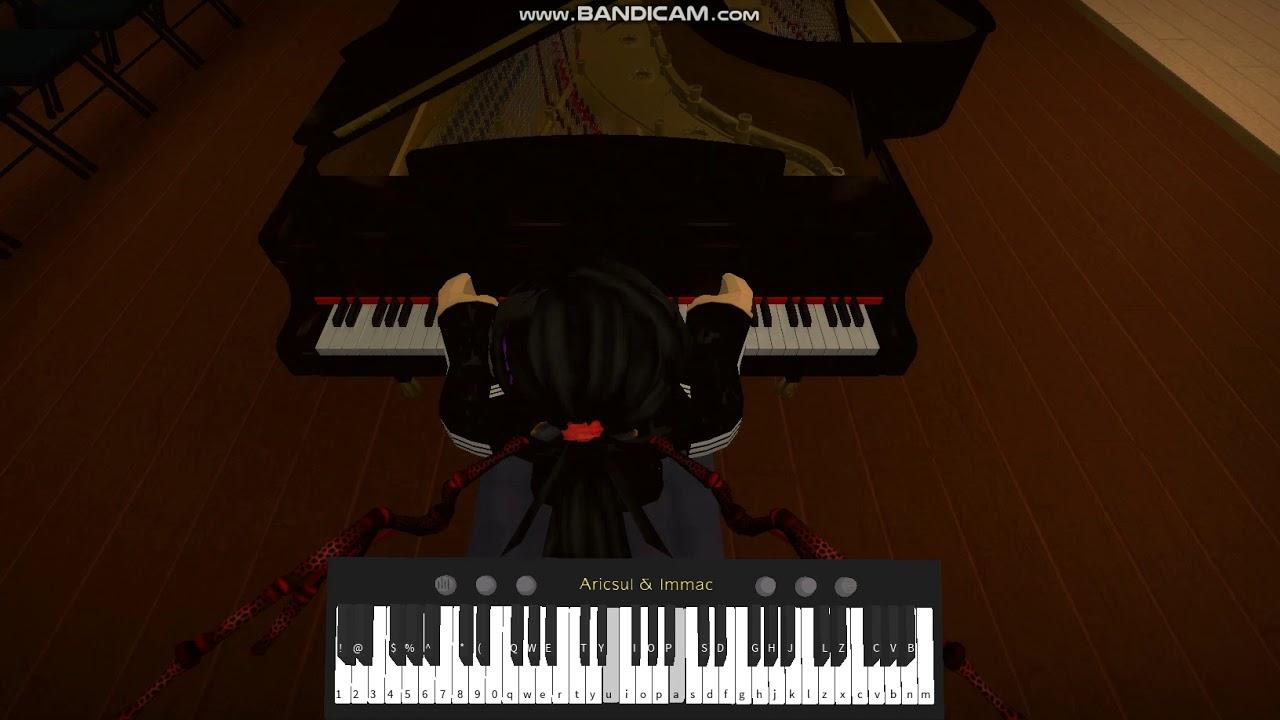 Roblox Piano Sheets Easy Alone Roblox Ilomilo Billie Eilish Piano By Annaliseplayz