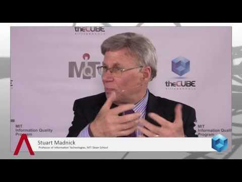 Stuart Madnick - MIT Information Quality 2013 - theCUBE - YouTube