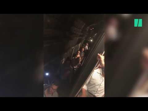Coincés dans un métro devenu fournaise, ces voyageurs ont vécu une évacuation rocambolesque