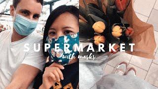 隨性VLOG | 跟我們一起去市集與超市買菜吧~順便看看德國人有沒有戴口罩!