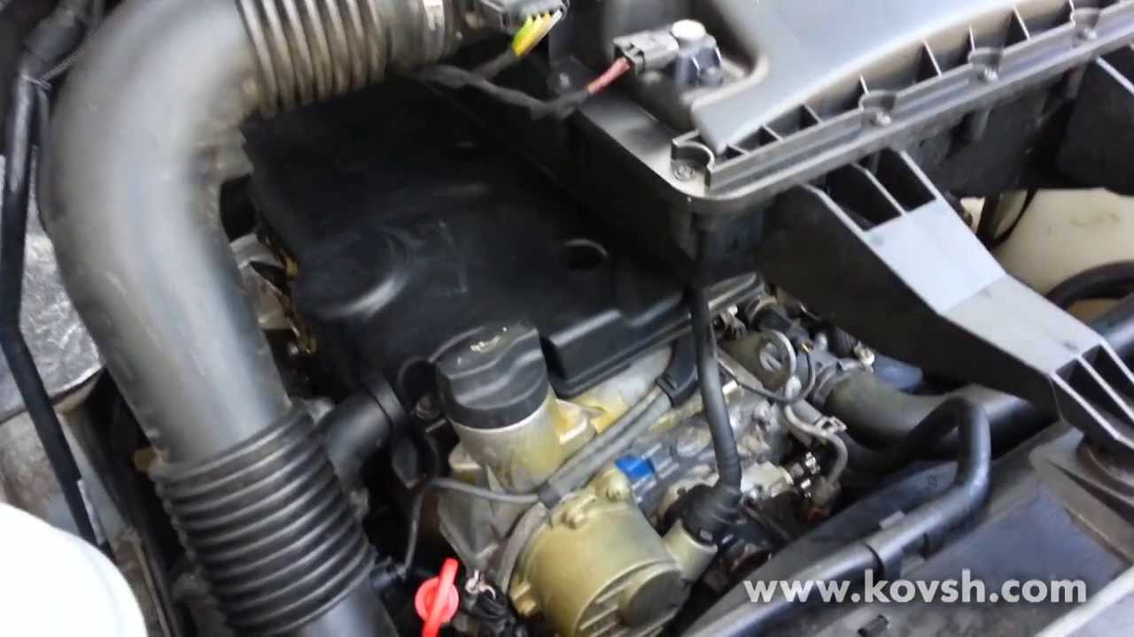 Топливный насос низкого давления дизельного двигателя