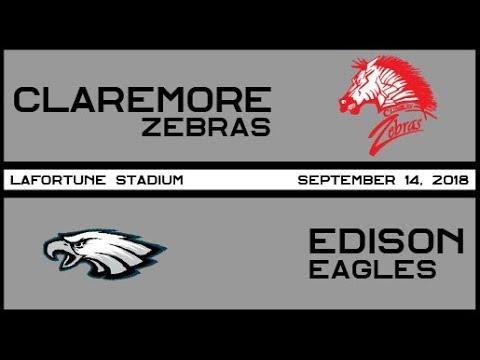 Football: Claremore vs. Edison