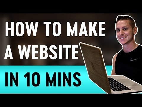 How to Make a Website in 10 Minutes in 2019 | Quick & Easy!