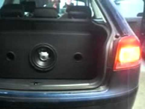 audi a3 subwoofer jbl gt5 10 youtube. Black Bedroom Furniture Sets. Home Design Ideas