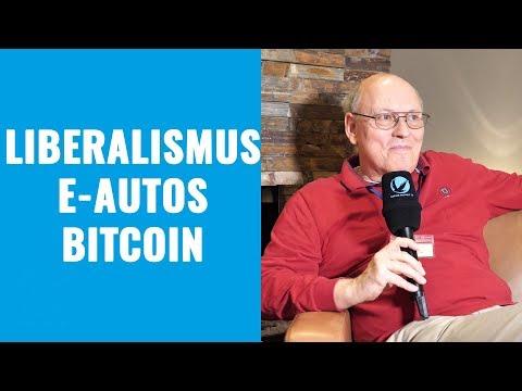 Liberalismus, E-Autos und Bitcoin – Horst Lüning im Interview