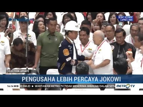 Pengusaha Lebih Percaya Jokowi