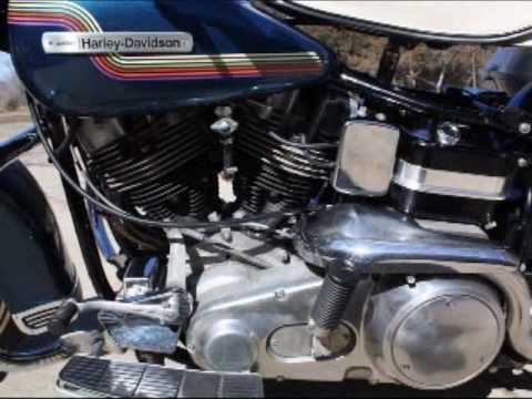 1975 HarleyDavidson FLH 1200  YouTube
