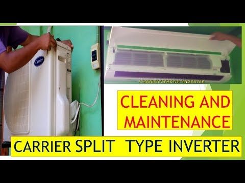 CARRIER CRYSTAL INVERTER AIR CON CLEANING/ INDOOR & OUTDOOR