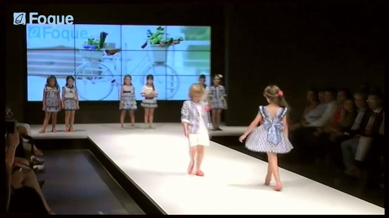 Moda Verano Foque Runway Desfile 2015 Infantil IWEHD92
