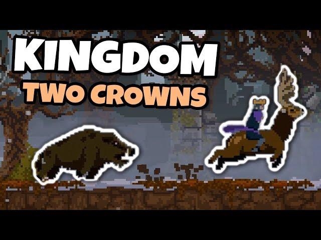 O Inverno Chegou! Javali Gigante! #05   Kingdom Two Crowns (Gameplay Português)