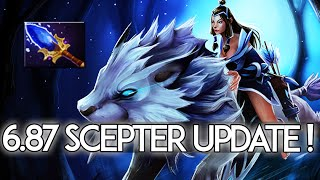 6.87 Patch Changes Dota 2 - Mirana Aghanim's Scepter Update!