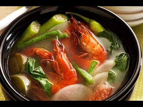 How To Cook Sinigang Na Hipon Youtube