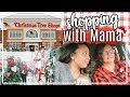 CHRISTMAS SHOP WITH US 2018 | SHOPPING FOR CHRISTMAS HOME DECOR WITH MAMA! | Page Danielle