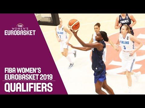 Finland v France - Full Game - FIBA Women's EuroBasket 2019 Qualifiers
