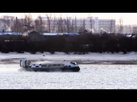 Hovercraft to China - Russia with Jonathan Dimbleby - BBC