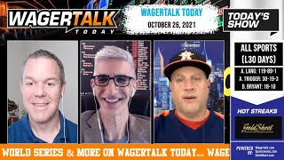 Free Sports Picks | NHL Picks | College Basketball Betting Previews | WagerTalk Today | Oct 26