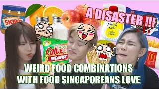 Gambar cover Trying WEIRD Food Combinations People LOVE       尝试人们喜欢的奇怪食物组合  ft TiffWithMi