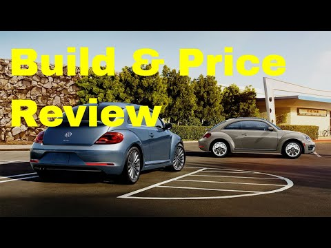 2019 Volkswagen Beetle Final Edition SEL Coupe - Build & Price Review: Specs, Colors, Interior