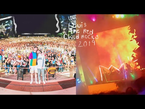 louis the child red rocks 2019!