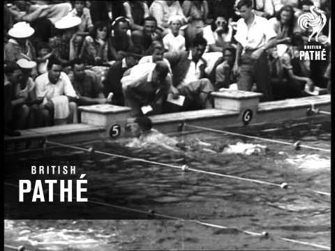 Swimming Sensation - Adelaide Aka New Boy Swimmer In World Class (1947)