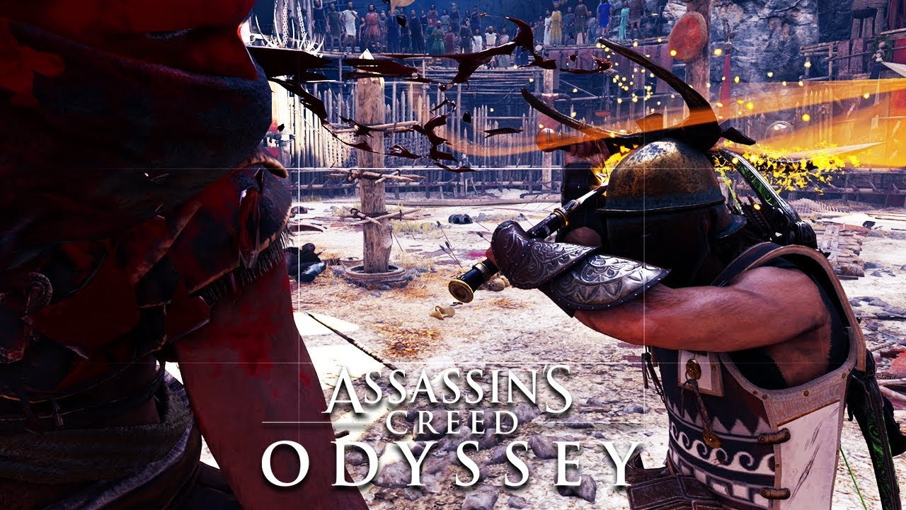 Assassin S Creed Odyssey Arena Belos The Beast Of Sparta Xbox